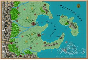 Lands of Cliona by PhaeOBrien