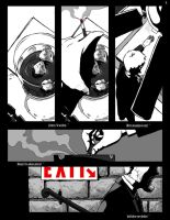 Page Two of the Scratch Graphic Novel. by VladimirJazz
