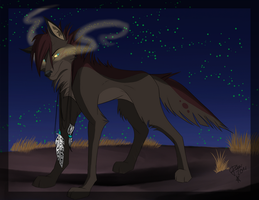 Wolf by Raven-loon