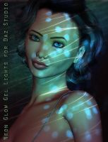 Neon Glow Light GELS For DS by ForbiddenWhispers