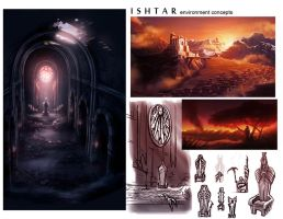 Folio Stuff: Throne Room Concepts by peach-mork