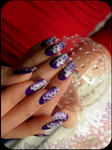 purple one stroke by Tartofraises