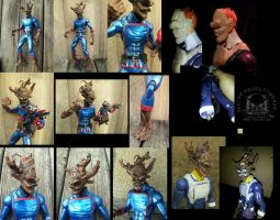 Marvel Legends Universe Groot Action Figure by ayelid