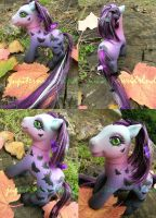 Halloween Swap Pony by jupiternwndrlnd