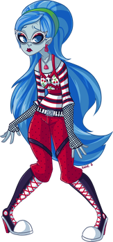 Ghoulia Yelps  - Day 12 by ZoeStanleyArts