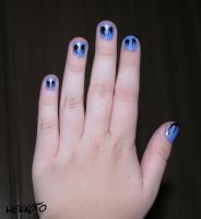 Eyeless Jack nails by Hekkoto
