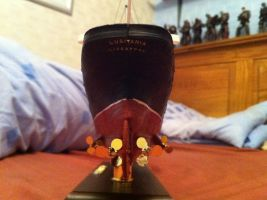 RMS Lusitania 1:350 Scale pt7 by Crystal-Eclair