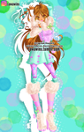 Winx Club: Flora Winter (Colored) by Magic-World-of-Winx
