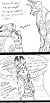 Doge-bunneh first meeting by SkitzOpheliac