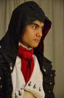 Assassins Creed Unity  Arno Dorian Cosplay WIP 1 by KrishnaDammertArt