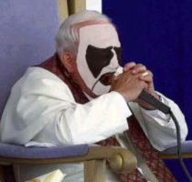 Corpse Paint Pope by CrystalDeth