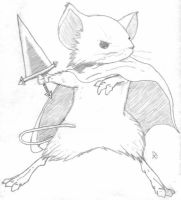 Lieam of Mouse Guard by RedwllWrrior