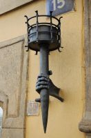 Lamp - Prague by Lauren-Lee