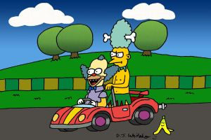 Krusty and Mel Double Dash by DJgames