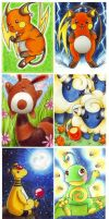 pokemon aceos by Re-belle