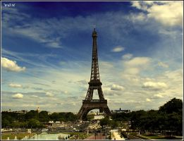 Eiffel Tower by Supabyte