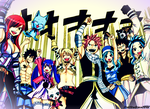 Shout of Victory_COLORED_Fairy Tail_Ch 435 by StarfireGrace1998