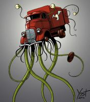Monster Truck Monster by Varin-maeus