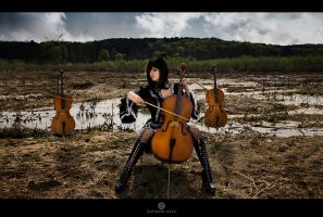 Ghost Cello by Elisanth