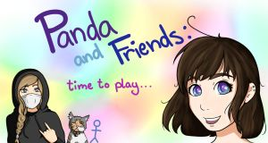 Panda and Friends - Twitch Banner by PandabearSarah