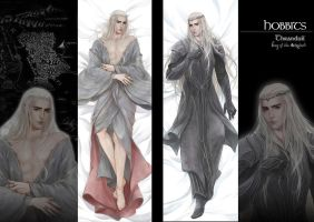 Thranduil pillow by aprilis420