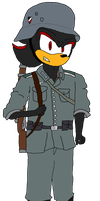 Shadow as a german soldier by Fast-Subaru71