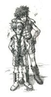 Zero and Six- Brothers by Fai-Ness