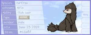 PKMNN - Alfie the Furfrou by Thalateya