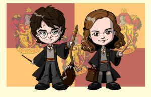 HARRY POTTER: GRYFFINDOLLS by Jerome-K-Moore