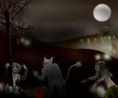 Monster Family Halloween Contest 2012 by OkamiJake