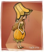 Lamp Princess by thalia-is-crazy