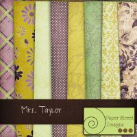 mrs taylor-paper street designs by paperstreetdesigns