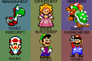Super Mario Issues by HostileHippo