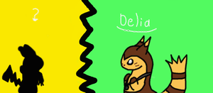 Delia and Who by Zelda-Wolfy