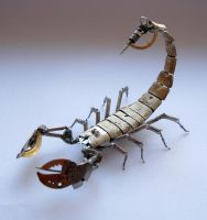 Mechanical Scorpion No 8 (II) by AMechanicalMind