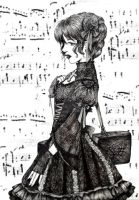 Gothic Music Lolita by Delight046