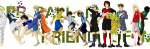 SOCCER BALL IS FRIEND OF MINE by hatidori