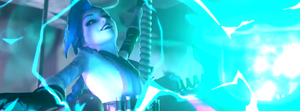 Jinx Facebook Cover by M@gic HAT by Magic666z
