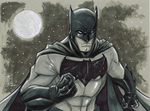 Batman Daily Sketch 5-14-2014 by Hodges-Art