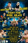 WFC The fight for Kodi Grace benefit show poster by Mohamed-Fahmy