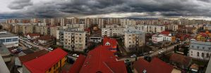 View from my dormroom - side B by Andrei-Joldos