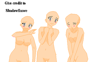 Base4 - weird face girls by shadowfiance
