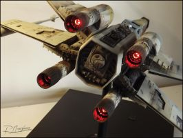 X-Wing Revisited lightning by Hikaru84