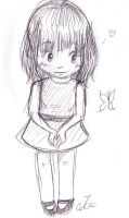 little me.. by cartoonmaniack