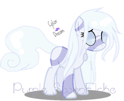 +~ ~{New Main OC's}~ Purple SnowFlake~+ by ColorDream123