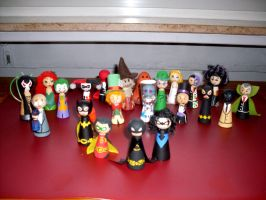 Batman Rogues Cones 2.0 by Poison-Harley