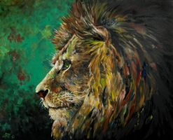 lion thought by saraska95