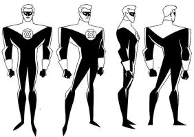 Hal Jordan GL Model Sheet by Nes44Nes