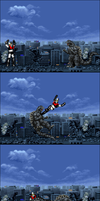 Godzilla X Mazinger Z: Clash of God and King by OneCallGat