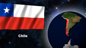 Flag Wallpaper - Chile by darellnonis